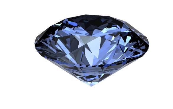 diamant bleu - createur joaillier Michel Comte