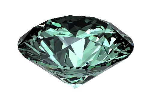 diamant vert - createur joaillier Michel Comte